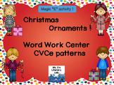 Christmas Word Work-CvCe-Long I