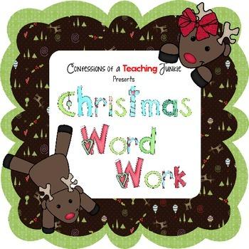 Christmas Word Work Fun!