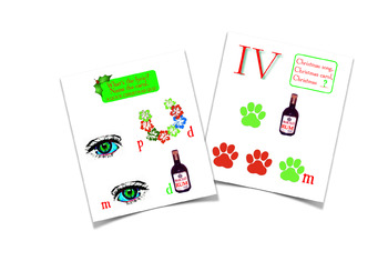 Christmas Rebus Puzzles With Answers.Christmas Rebus Puzzle Worksheets Teaching Resources Tpt