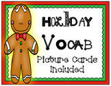Word Cards: Christmas Holiday