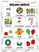 Mini Word Wall - Christmas Themed