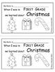 Christmas Words (sentence writing)