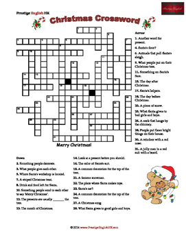 It's just a picture of Delicate Holiday Crossword Puzzles Printable