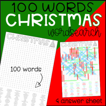 Christmas Wordsearch