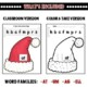 Christmas Wordslides - Set 1
