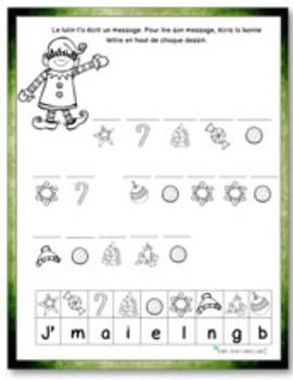 Christmas activities (Cahier préscolaire de Noël)