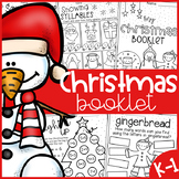Christmas Worksheet Booklet - Kindergarten First Grade