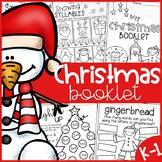 Christmas Worksheet Booklet - Kindergarten First Grade