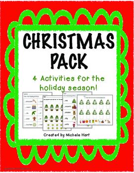 Christmas Worksheet Pack
