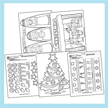 Christmas Worksheets - 16 Pack