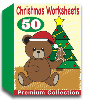 Christmas Worksheets for Kindergarten (50 Worksheets)