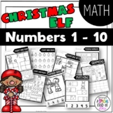 Christmas No Prep Numbers 1 to 10