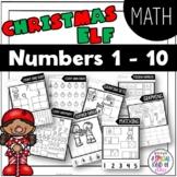 Christmas No Prep Numbers 1 to 10