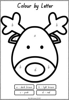Christmas Activities QLD Beginners Font: English and Maths Worksheets
