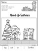 Christmas Worksheets for Kindergarten - ELA and Math