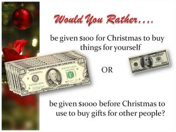 Christmas Would You Rather Powerpoint