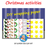 Christmas - Wrapping paper *Freebie*