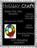Christmas Wreath Academic Craft