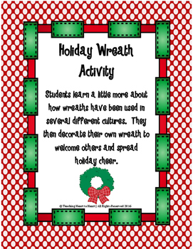 Christmas Wreath Activity