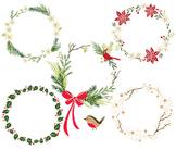 Christmas Wreath Clip Art, Wreath Clip Art, Christmas Wrea