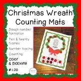 Christmas Wreath Counting Mats