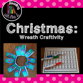 Christmas 3D Wreath Craftivity