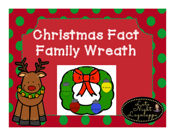 Christmas Wreath Fact Family!