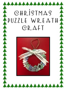 Christmas Wreath Ornament Craft