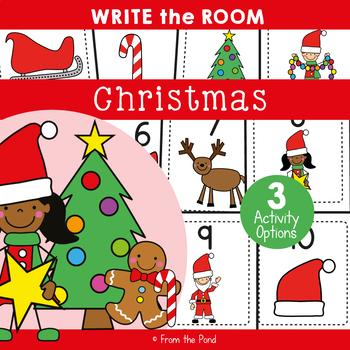 Christmas - Write Cut Paste the Room