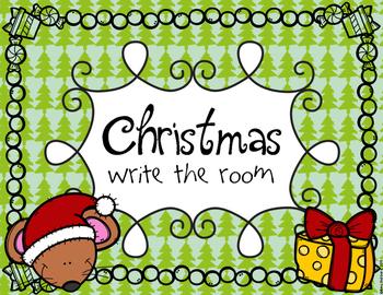 Christmas Write The Room FREEBIE