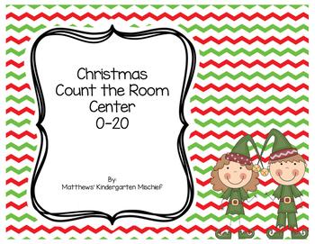 Christmas Write the Room 1-20
