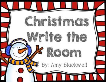 Christmas Write the Room