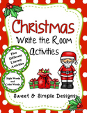 Christmas Write the Room Activities