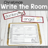 Christmas Write the Room-Christian themed