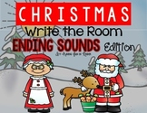 Christmas Write the Room Ending Sounds Edition