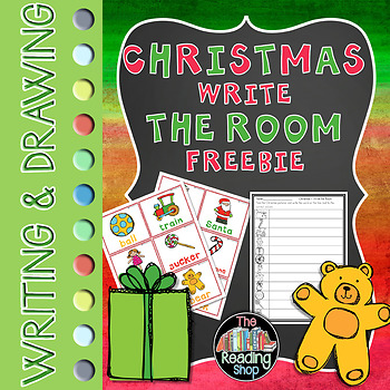 Christmas Write the Room Freebie