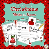 Christmas Write the Room Kindergarten - 2 (Differentiated)