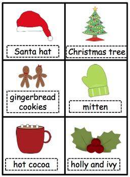 Christmas Write the Room Set