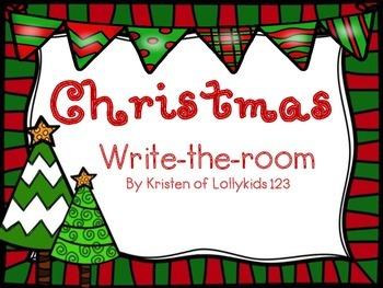 Christmas Write-the-room
