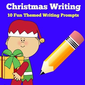 Christmas Writing Activity | Christmas Writing Prompts