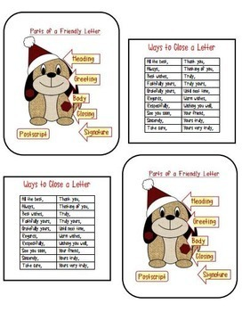 Christmas Writing Activities - Letter Writing, Descriptive Writing, Want Ads