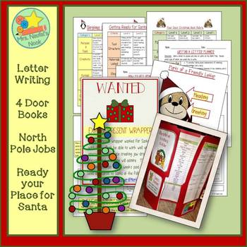 Christmas Writing - Letter Writing, Descriptive Writing, Want Ads