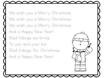 Christmas Writing Activity | Christmas Writing Kindergarten