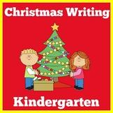 Christmas Writing Worksheets Kindergarten