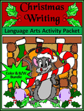Christmas Activities: Christmas Writing Projects Activity Bundle - Color&BW