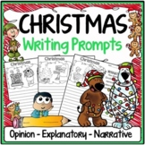 Christmas Writing Prompts {Narrative Writing, Informative & Opinion Writing}