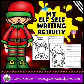 Christmas Writing Activities (Elf Writing)