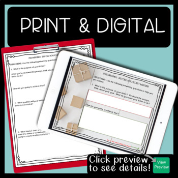 Christmas Writing Persuasive Friendly Letter
