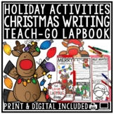 Christmas Writing Prompts 3rd Grade, 4th Grade Letter to Santa, Elf Application
