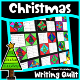 Christmas Activity: Christmas Writing Prompts Quilt: Christmas Writing Activity